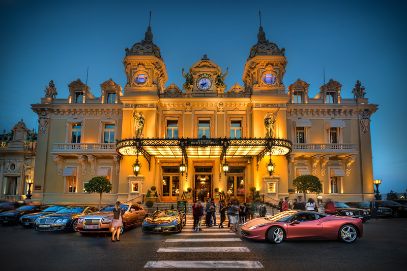 Monaco is a beautiful little country. At the center you find the old Casino Monte Carlo. Rich people come and park their cool cars and people gather to envy the cars and take pictures of them. Photo by: Jacob Surland, www.caughtinpixels.com