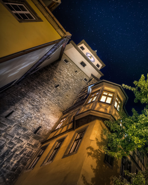 The Wizard is working late in his tower, or so it seems. The town of Rothenburg ob der Tauber, is one of the most well preserved medieval towns in Germany. It is surrounded by a wall all the way around, and you can walk 95% of it. You really feel like a soldier with a crossbow walking there. Photo by: Jacob Surland, www.caughtinpixels.com