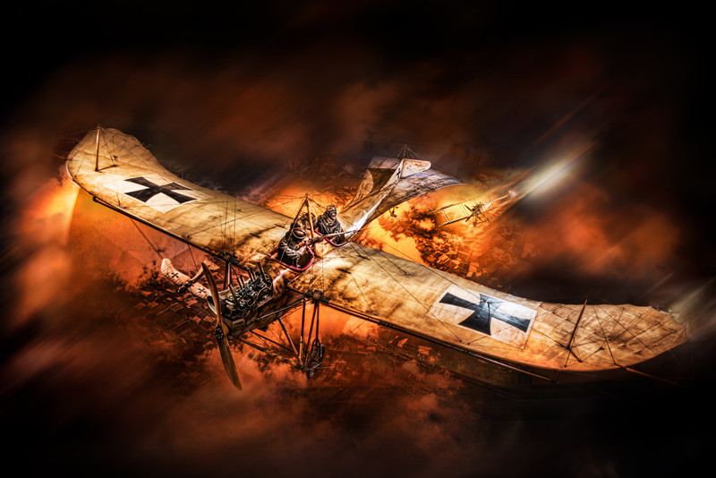 How To Make A Classic Wwi Plane Enter A War Scene Caught In Pixels